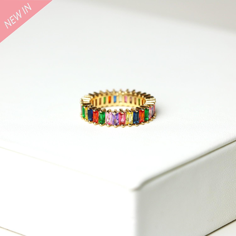 Ring Baila, gold multi 0