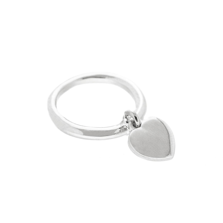 Ring Heart, silber 0