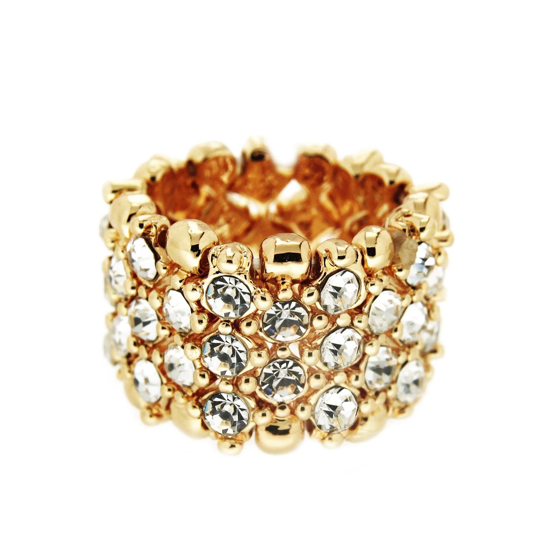 Ring Ida, gold crystal 0