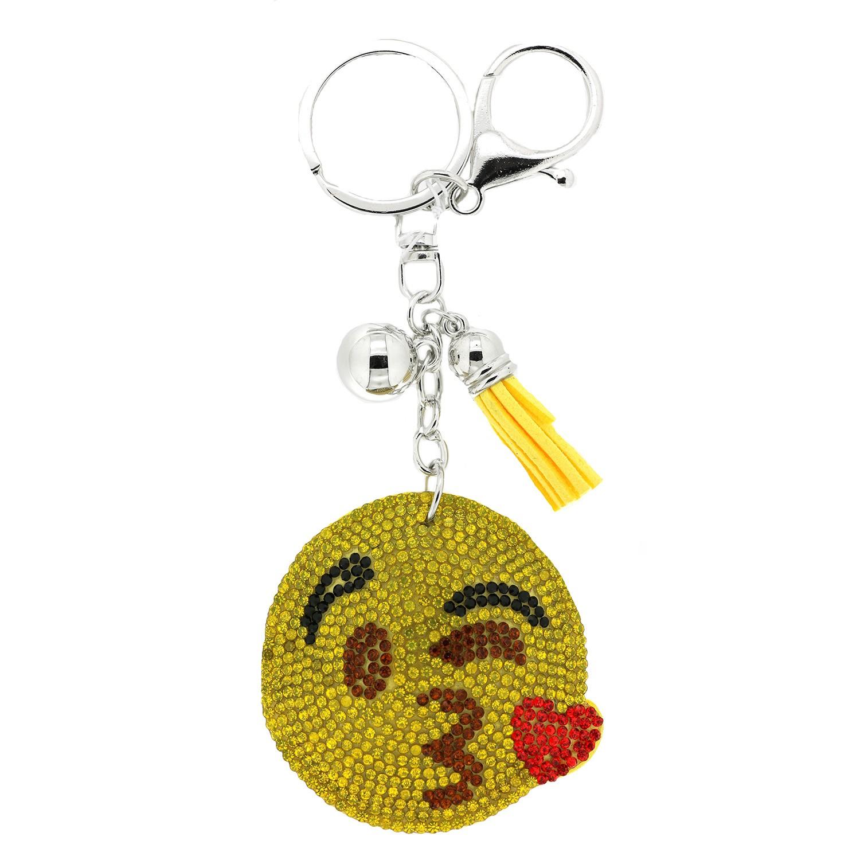 Schlüsselanhänger  Lucky Smile II, gelb multi 0