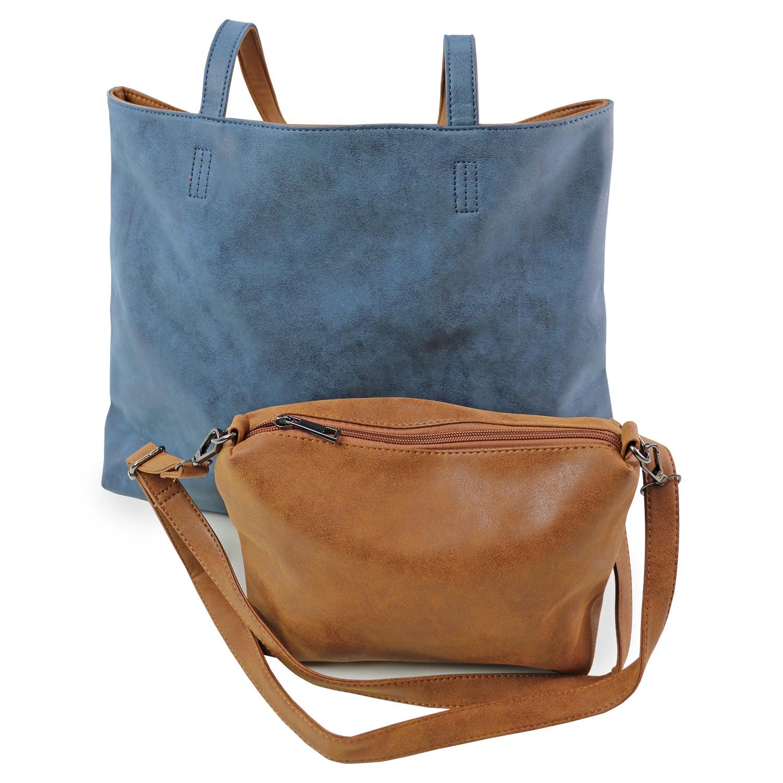 Tasche Cheltenham, blau braun 0