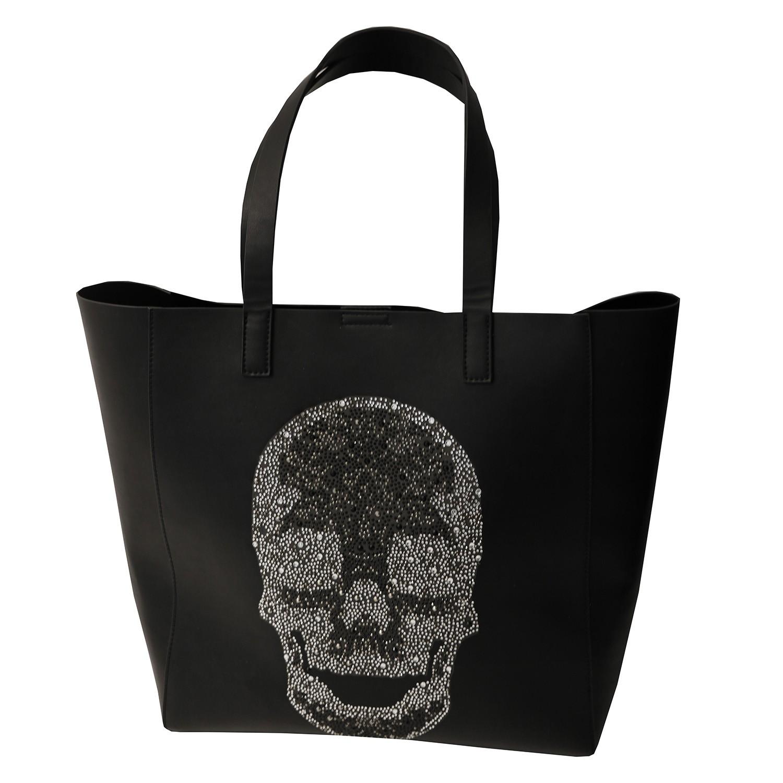 Tasche Skull Big, schwarz crystal 0