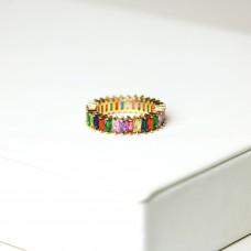 Ring Baila, gold/multi