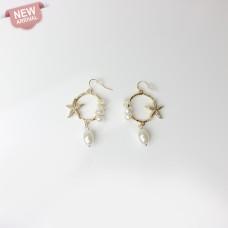 Ohrschmuck Caren, gold/pearl