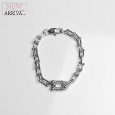 Armband Aliy, silber/crystal