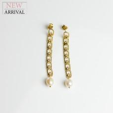 Ohrschmuck Annalena, gold/pearl