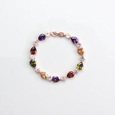 Armband Anni, gold/multi