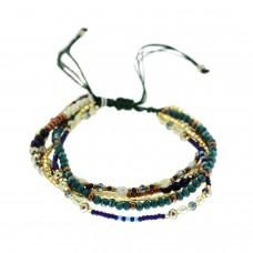 Armband Adeline, blau  mix 0