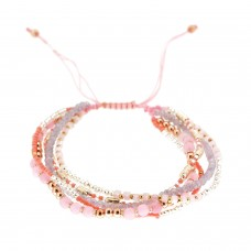 Armband Adeline, rose mix 0