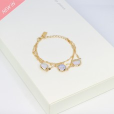 Armband Alizee, gold pearl 0