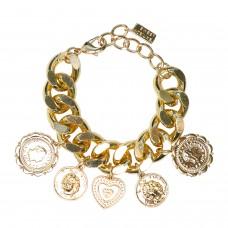 Armband Charms, gold 0