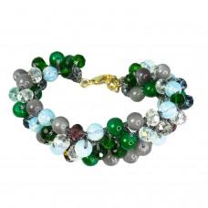 Armband Feliksa, grün grau mix 0