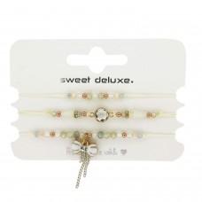 Armband Set 6, weiß crystal 0