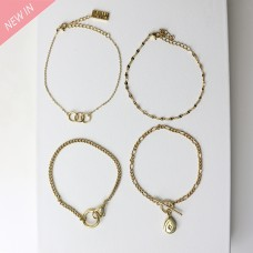 Armband Set Costia, gold 0