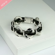 Armband, silber grau 0