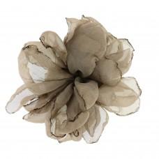 Brosche Haarcklip Alana, silber braun 0