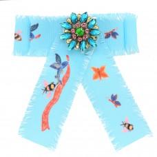 Brosche Gabriella, blau multi 0