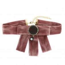 Broschenkette, rose/gold