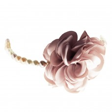 Choker Rose, silber rose mix pearl 0