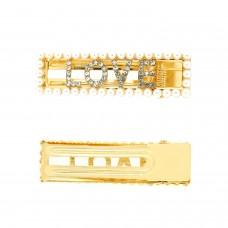 Haarschmuck Love, gold pearl 0