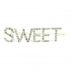Haarschmuck sweet, silber crystal 0