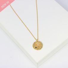 Kette Elma, gold crystal 0