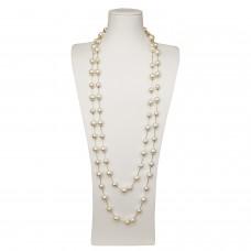 Kette Evangelia, gold pearl 0