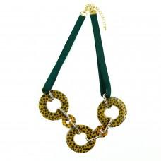 Kette Fatlinda, gold grün braun 0