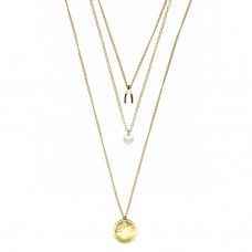 Kette Fosca, gold crystal 0