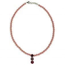 Kette Perlen, rosa 0