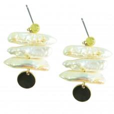 Ohrschmuck  Vasilisa, gold pearl 0