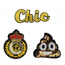 Patches Set Face Chic Marine 0