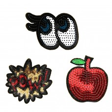 Patches Set Pow Kaktus Augen 0