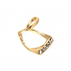 Ring Ceyanne, silber crystal 0