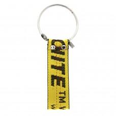 Schlüssel- Taschen- Gürtelanhänger, schwarz gelb 0