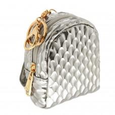 Schlüsselanhänger Bag, silber gold 0
