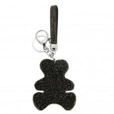 Schlüsselanhänger Big Teddy, silber  hematite 0