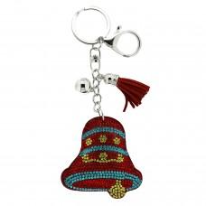 Schlüsselanhänger Glocke, rot 0