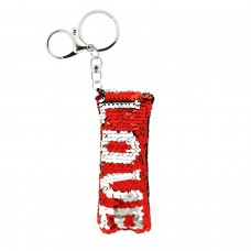 Schlüsselanhänger LOVE, rot 0