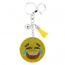 Schlüsselanhänger  Lucky Smile III, gelb multi 0