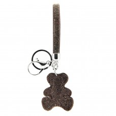 Schlüsselanhänger Teddy, silber bl.diamond 0