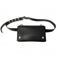 Tasche Gürteltasche, schwarz 0