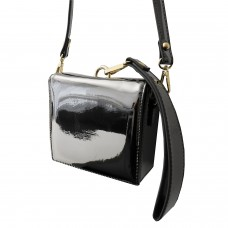 Tasche Metallic, grau 0