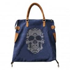 Tasche Skull, braun jeans 0