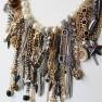 Kette Marilu, antiksilber pearl schwarz gold 2