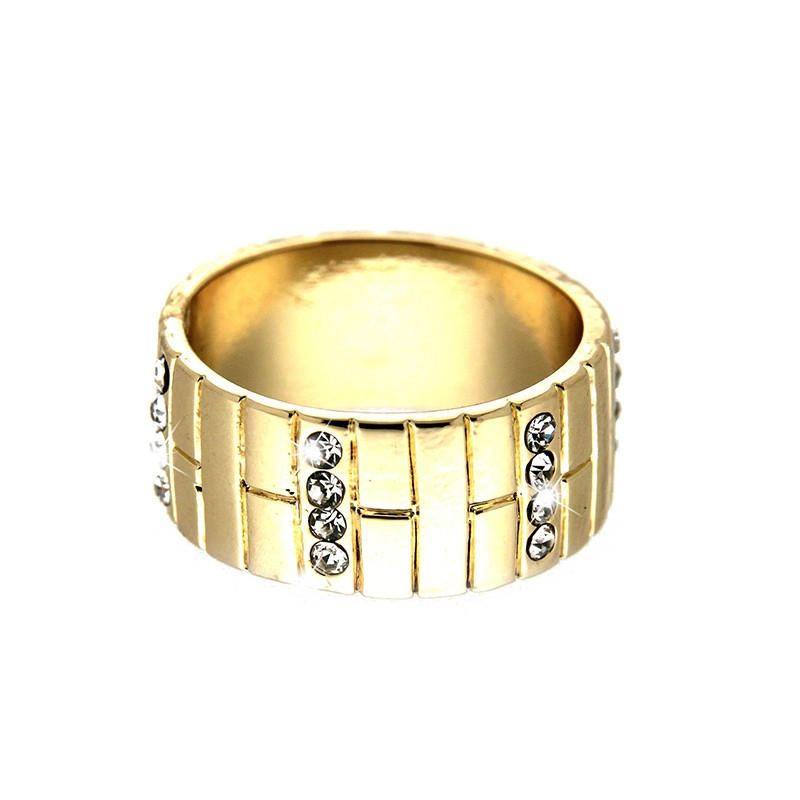 Ring Nelina, gold/crystal 0