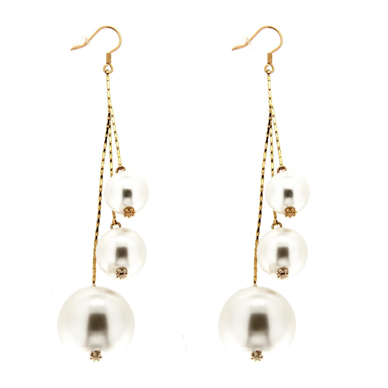 Ohrring Celenta, gold pearl 0