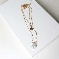 Kette Carolina, gold/pearl