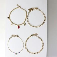 Armband Set Amke, gold/multi