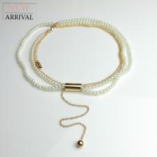 Kette Darleen, gold/pearl